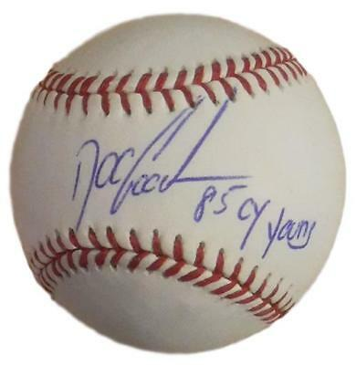"""Dwight """"doc"""" Gooden Autographed New York Mets Oml Baseball Cy Young 14874 Jsa"""