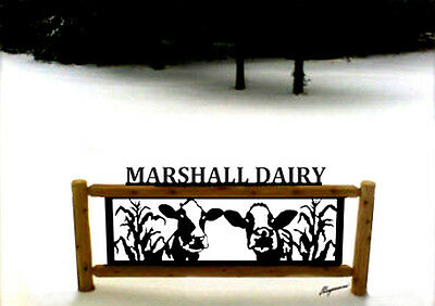 Dairy Cows-Clingermans Signs-Farm And Ranch Decor-Cow Sign-Gifts-Farm Animals