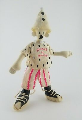 FIDO DIDO Rag Doll Mascot 7UP RARE Very hard to find. Great for collectors
