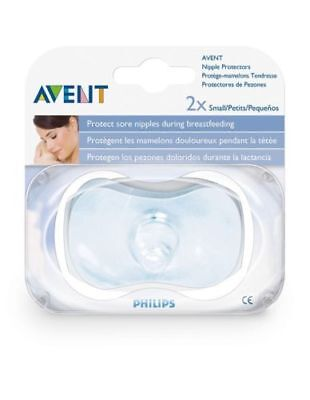 AVENT Nipple Protectors 2 Pack Small Size
