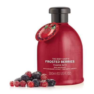 New Vegetarian The Body Shop Bubble Bath Foaming Wash Frosted Berries Scent