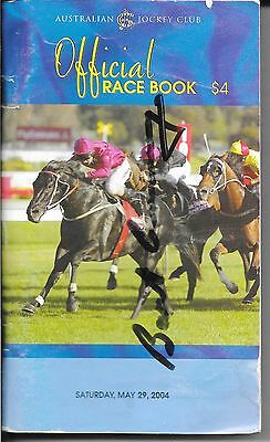Bart Cummings - Legend Of The Track - Hand Signed Autograph On Race Day Book
