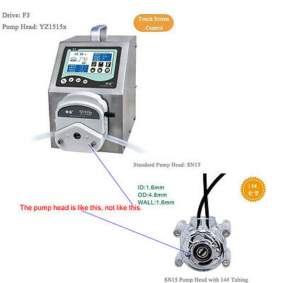 Dispensing Peristaltic Pump F3 SN15-14  0.24 - 84 ml/min per channel 1 Channel