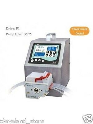 Dispensing Peristaltic Pump 0.053-64.5 ml/min per Channel 5 Channel U.S. Solid®