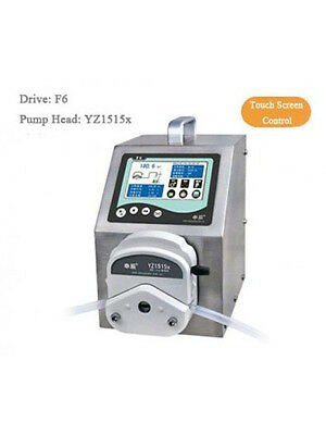 Peristaltic Pump Dispensing Type F6 3600 ml/min 2*YZ2515x 15# 24#