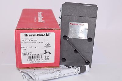 NEW ThermOweld Mold CC-2: 4/0 Stranded to 2/0 STR Tap M-243 Welding