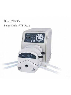 Peristaltic Pump 0.85-1740 ml/min per Channel 0.5-600 r/min 2 Channel 2*YZ2515x