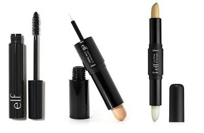 ELF Eye Primer &Liner Sealer, Lip Primer&Plumper, Volume Plumping Mascara