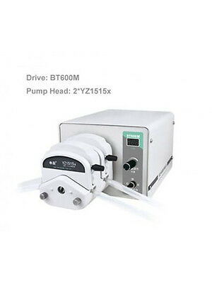 Peristaltic Pump BT600M 2*YZ1515x 0.07 - 2280 ml/min per channel 2 Channel