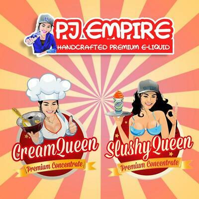 PJ Empire Aromen Cream Queen 10ml Slushy Queen 12ml Aroma Flavour Concentrate