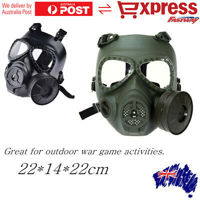 M04 Cosplay Airsoft Tactical Wargame Dummy Gas Protective Mask With Fan System