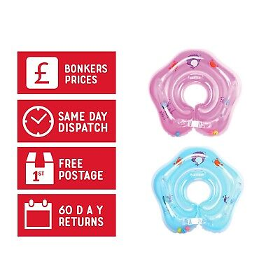 Baby Neck Float Ring Inflatable Swimming Adjustable Safety Aids 1-18 Months