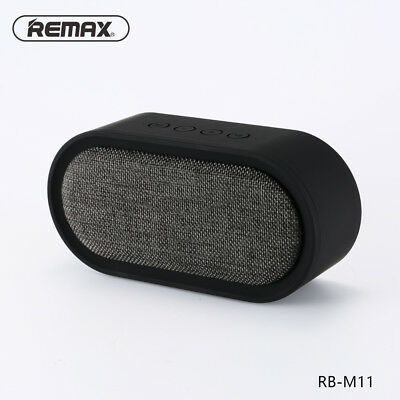 REMAX M11 Portable Bluetooth 4.2 Speaker with Microphone Support TF Card/AUX-in