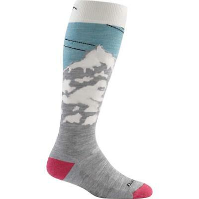 Darn Tough Women's Yeti Over-the-Calf Cushion Socks, Glacier, Medium