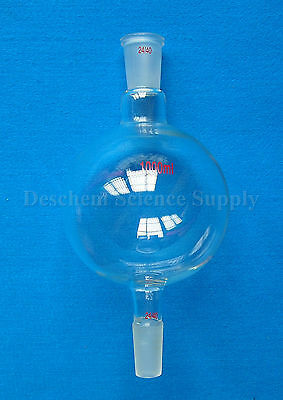 1000ml,24/40,Chromatography Reservoir Glass Flask,1 Litre,My-Glassware