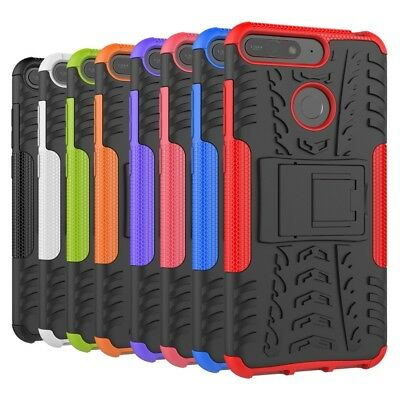 Shockproof Heavy Duty Tough Strong Case Cover For Huawei Y5 2017 & Y5 Y6 2018