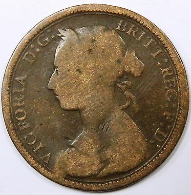 C005-37 # Great Britain (Uk) | Victoria, 1/2 Penny, 1889, G