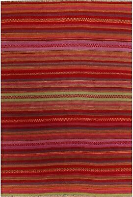 Hand loom Vintage style stripe cloth for pillowcases,cushion and sofa covers.
