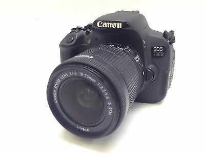 Camara Digital Reflex Canon Eos 700D +18-55Mm 0.25M/0.8Ft 2444584