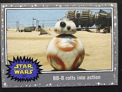 Journey to Star Wars: The Force Awakens #82 BB-8 rolls into action SILVER NM-MT