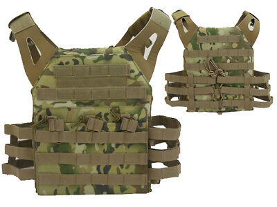 Tactical JPC Combat Vest Molle Assault Airsoft Paintball Military CP