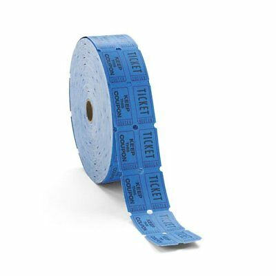 Generations Consecutively Numbered Double Ticket Roll, Blue, 2000 Tickets per...