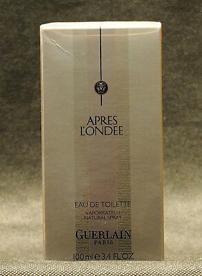 GUERLAIN APRES L'ONDEE SPRAY EDT 100ml /3.4 fl.oz VERY RARE MOLTO RARO