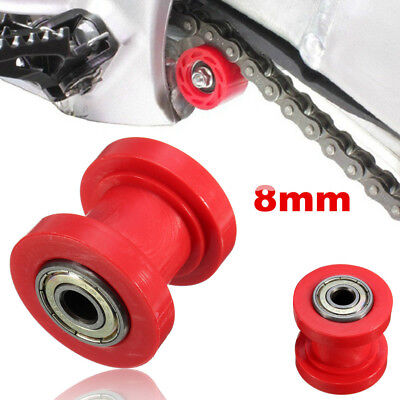 8mm Chain Roller Slider Tensioner Adjuster Pulley Wheel Guide Pit Dirt Bike top