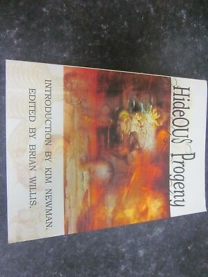 Hideous Progeny/A Frankenstein Anthology-  Paperback - Unread -Great Condition.