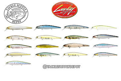 Lucky Craft 112MR Slender Pointer Jerkbait Suspending 4.5in 1/2oz - Pick