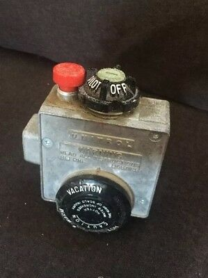 Robertshaw R110RTSP 3200748 66-138-335 Water Heater Gas Valve Thermostat Used