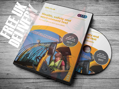 Multi-Lang 2017 CSCS CARD TEST DVD for Operatives and Specialists CITB GT 100/17