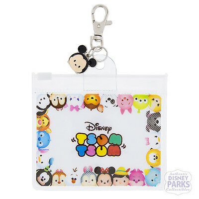 Disney Parks Tsum Tsum Pouch for Lanyard