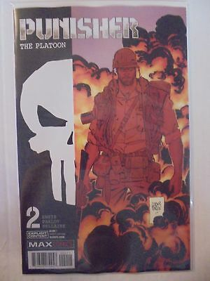 Punisher: The Platoon #2 Marvel NM Comics Book
