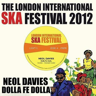 """NEOL DAVIES * Dolla Fe Dolla + DUALERS * Nothing Takes The Place Of You 7""""  SKA"""