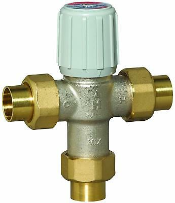 Honeywell RC-AM101C-US-1 Thermostatic Anti-Scald Mixing Valve (Silver)