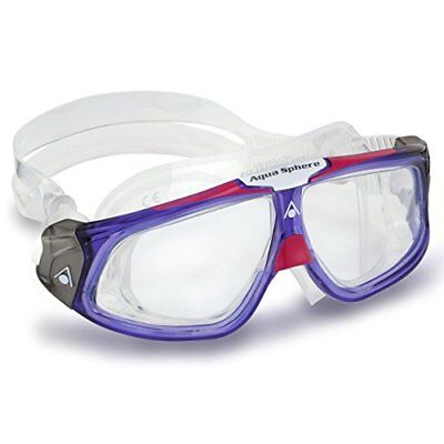Aqua Sphere Seal 2.0 Swimming Mask with Clear Lens - Violet Pink