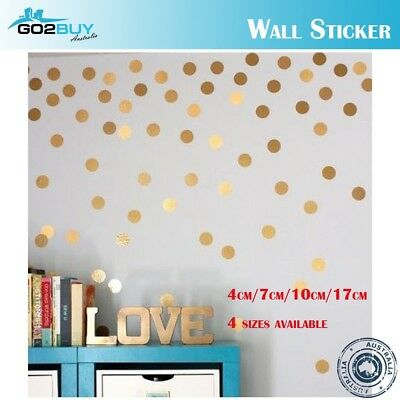 Wall Stickers Polka Dots Circles Spots Vinyl Decal Kids Art Mural Decor DIY