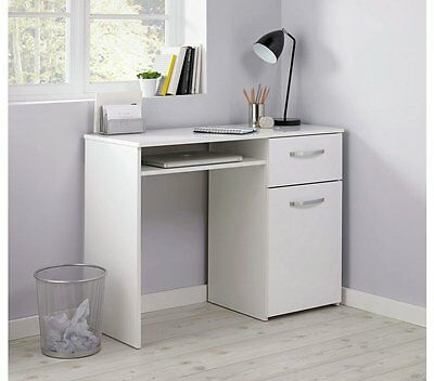 HOME Hayward Office Desk - White Gloss - V002148