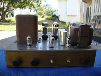 Nice Vintage Eico HF-20 Mono Integrated Amplifier - Serviced & Tested