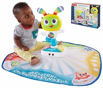 Interactive Dance Play Mat w Light & Sound for Baby by Fisher-Price Bright Beats