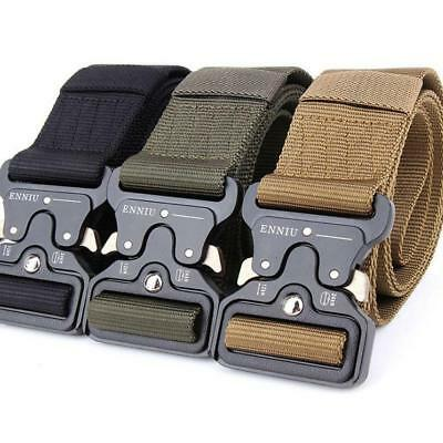 Men's Military Outdoor Sports Military Tactical Nylon Waistband Belt Fashion