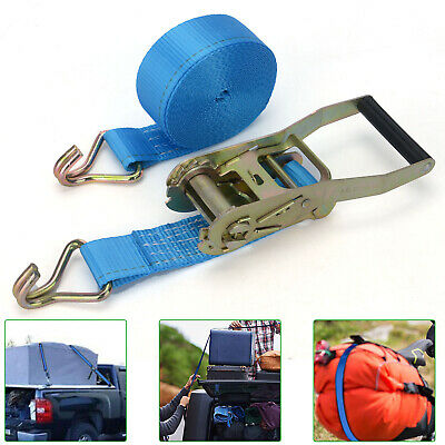 2000 kg 50mm x 7m Heavy Duty RATCHET STRAP Tie Down 2 Ton 2500 kg webbing UK