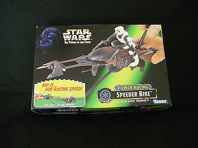 Star Wars Speeder Bike With Scout Trooper