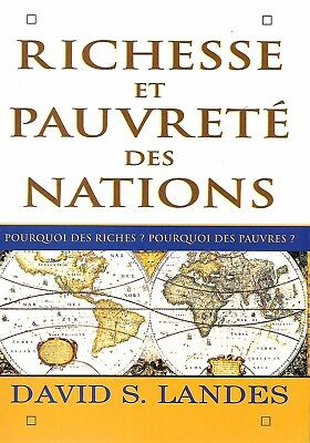Richesse et pauvrete des nations de David S. Landes