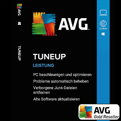 AVG PC TuneUp 2019 3 PC 2 Jahre / TuneUp Utilities | Vollversion/Upgrade | UE DE