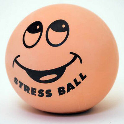 SMILING FACE STRESSBALL Squishy & squashy Stress Ball Tension Relief - Fun Gift