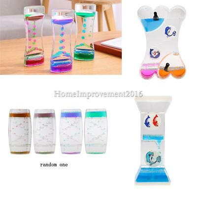 Mix Illusion Liquid Oil Floating Color Hourglass Dropper Motion Visual Toy Gifts