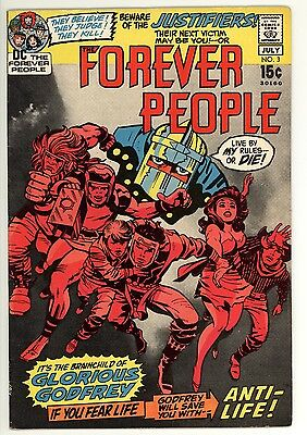 Forever People 3 - Jack Kirby - Superman - High Grade 9.2 NM-