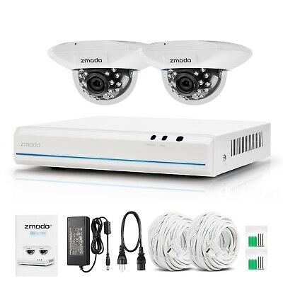 8CH 1080p HDMI NVR 720p Indoor Dome Camera Home Security System No HDD Clearance